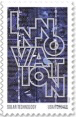 Innovation postage stamp