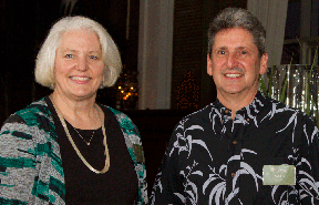 Cheryl Ernst and David Lassner