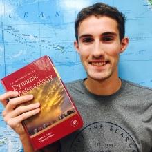 Dillon Dodson with book